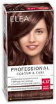 "Hair Colour ""Elea Proffesional Colour&Care"" - № 4/37 Velvet brown"