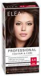 "Hair Colour ""Elea Proffesional Colour&Care"" - № 3/4 Dark chestnut"