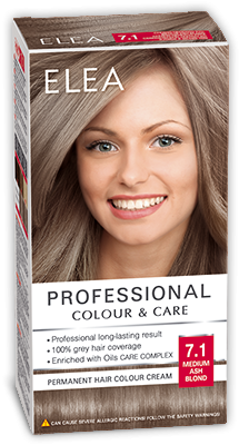 Hair Colour Quot Elea Proffesional Colour Amp Care Quot № 7 1 Medium