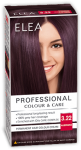 "Hair Colour ""Elea Proffesional Colour&Care"" - № 3/22 Aubergine"