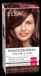 "Боя за коса ""Elea Proffesional Colour&Care"" - № 4/37 Кадифено кафяв"