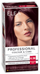 "Hair Colour ""Elea Proffesional Colour&Care"" - № 4/56 Mahogany violet"