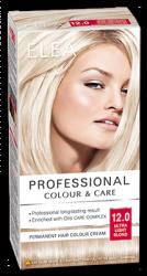 "Hair Colour ""Elea Proffesional Colour&Care"" - № 12/0 Ultra light blond"