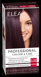 "Боя за коса ""Elea Proffesional Colour&Care"" - № 3/22 Патладжан"