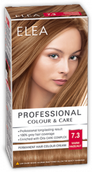 "Hair Colour ""Elea Proffesional Colour&Care"" - № 7/3 Warm hazelnut"