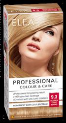 "Боя за коса ""Elea Proffesional Colour&Care"" - № 9/3 Златно светло рус"