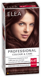 "Боя за коса ""Elea Proffesional Colour&Care"" - № 4/47 Кестен"