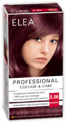 "Hair Colour ""Elea Proffesional Colour&Care"" - № 5/56 Mahogany"