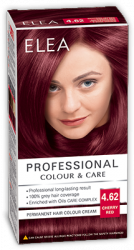 "Hair Colour ""Elea Proffesional Colour&Care"" - № 4/62 Cherry red"