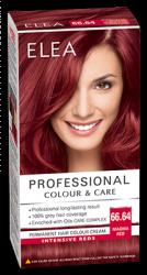"Hair Colour ""Elea Proffesional Colour&Care"" - № 66/64 Magma red"