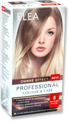 "Комплект ""Elea Professional Colour & Care"" Ombre Effect № 8 - От тъмно русо до русо"